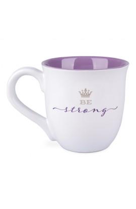 Ceramic Mug-Scripture Blessings-Be Strong
