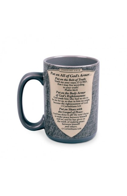 Ceramic Mug-Armor of God