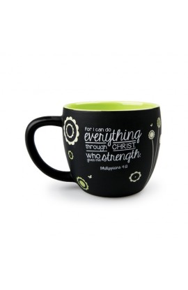 Ceramic Mug-Joy Blossoms-Strength