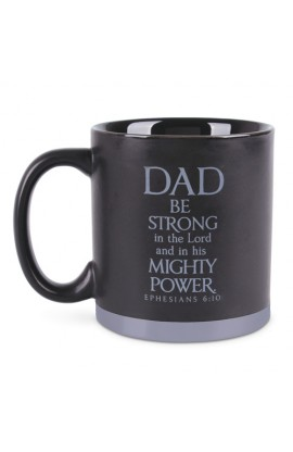 Ceramic Mug-Dad Metal