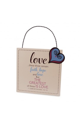 Plaque MDF Metal Filled With Love
