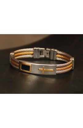 CROSS BANGLE CABLE WIRE CHAIN