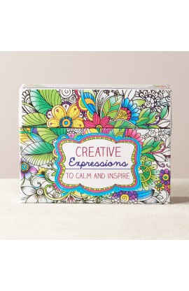CREATIVE EXPRESSIONS CARDS TO COLOR AND SHARE