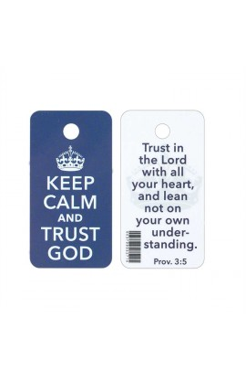 KEEP CALM NOVELTY PLASTIC