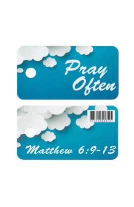 PRAY OFTEN NOVELTY PLASTIC