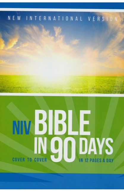 NIV BIBLE IN 90 DAYS