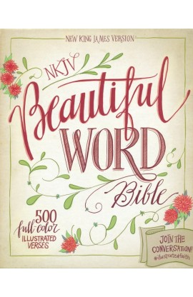 NKJV BEAUTIFUL WORD BIBLE PEACOCK BLUE