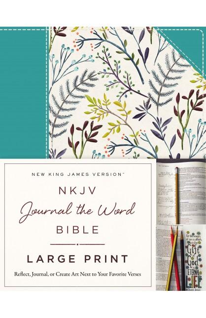 nkjv journal the word bible large print