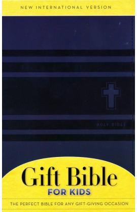 NIV GIFT BIBLE FOR KIDS SLATE BLUE