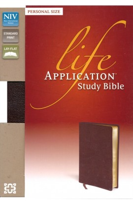 LIFE APPLICATION NIV STUDY BIBLE PERSONAL SIZE BURGUNDI