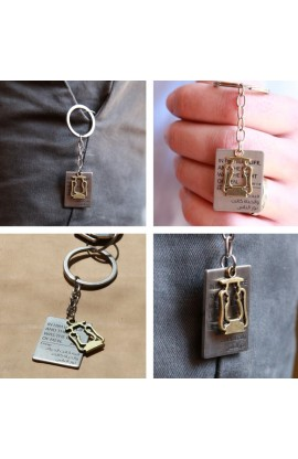 LAMP TAG KEY CHAIN