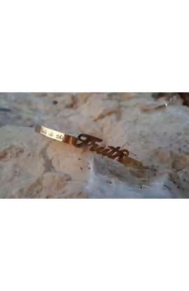 TRUTH GOLD BANGLE
