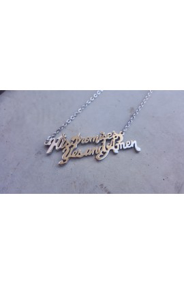HIS PROMISES NECKLACE