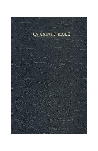 FRENCH BIBLE 1029 RELIURE SOUPLE MARINE REFERENCES