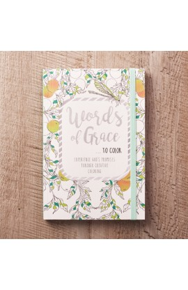 Coloring Book Words of Grace