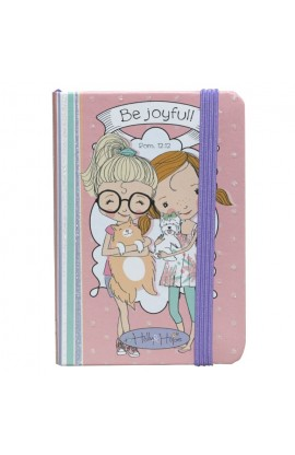 """Holly & Hope: Be Joyful"" Notebook - Rom 12:12"