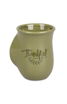 Ceramic Mug-Handwarmer-Harvest-Thankful
