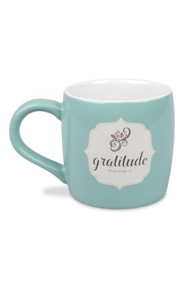 Ceramic Mug-Filled With...Gratitude