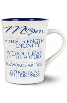 Ceramic Mug-It Is Written-Mom