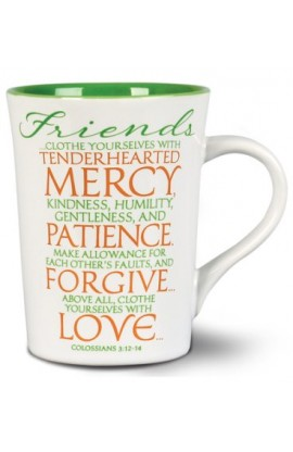 Ceramic Mug-It Is Written-Friends