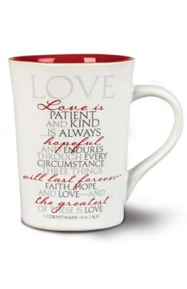 Ceramic Mug-It Is Written-Love