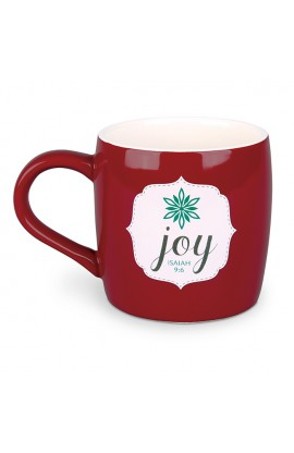 Christmas Mug-Ceramic-Filled With...Christmas Joy