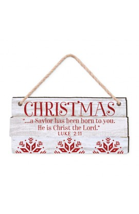 Christmas Ornament-MDF-Rustic Country-Christmas