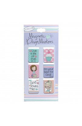 Holly & Hope Set of 6 Small Pagemarkers