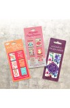 """""""With God All Things Are Possible"""" Set of 6 Small Magnetic Pagemarkers"""
