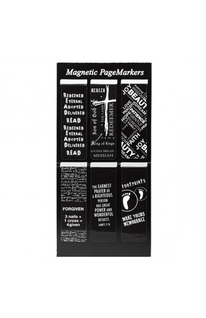 Black and White Magnetic Pagemarkers