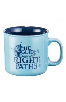 Mug He Guides Me Ps 23:3