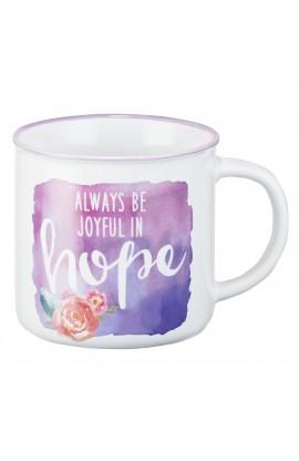 Mug Always Be Joyful in Hope Rom 12:12