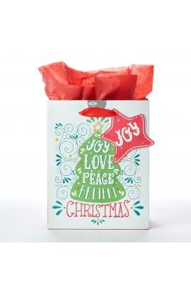 Gift Bag Md Joy Love Peace Believe