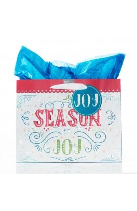 Gift Bag Lg Season of Joy