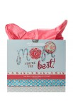 Gift Bag Lg Mom You are Best Phil 1:7