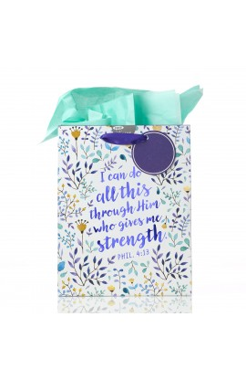 Gift Bag Md I Can Do All This Phil 4:13