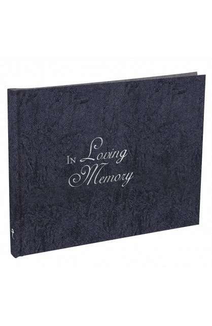 guest book in loving memory