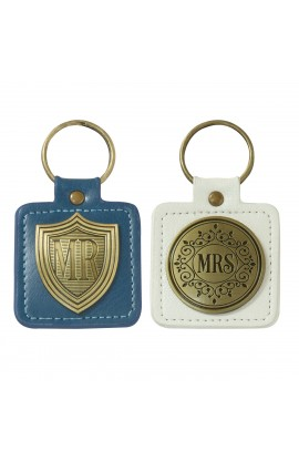 Keyring Set 2pc Mr and Mrs
