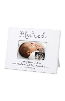 Frame Mini MDF Blessed Baby Sonogram