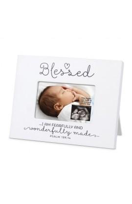 Frame Mini MDF Blessed Baby Sonogram