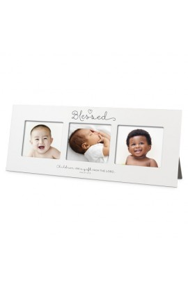 Frame Multi Photo MDF Blessed Baby