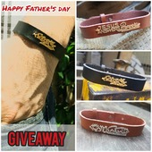 """""""It is more blessed to give than to receive."""" Acts 20:35 Do you want a gift for your DAD and can't afford it? We are giving away 300 genuine leather bracelets from today till June 21st. NB: It's for your Dad not for you😉, we will trust you anyway! 💢 Pass by @lemall_lb or @citymall_lebanon. 1st come 1st served"""