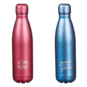 Decorated water bottle with artistic scripture inspiration, premium double walled stainless steel, vacuum sealed bottle. ❄️ Keeps water cold for 24 Hours! 🌍 We deliver to anywhere at best rates in 2-5 days 🛒 ayatonline.com/wb #meaningfulgifts #importedfromusa🇺🇸